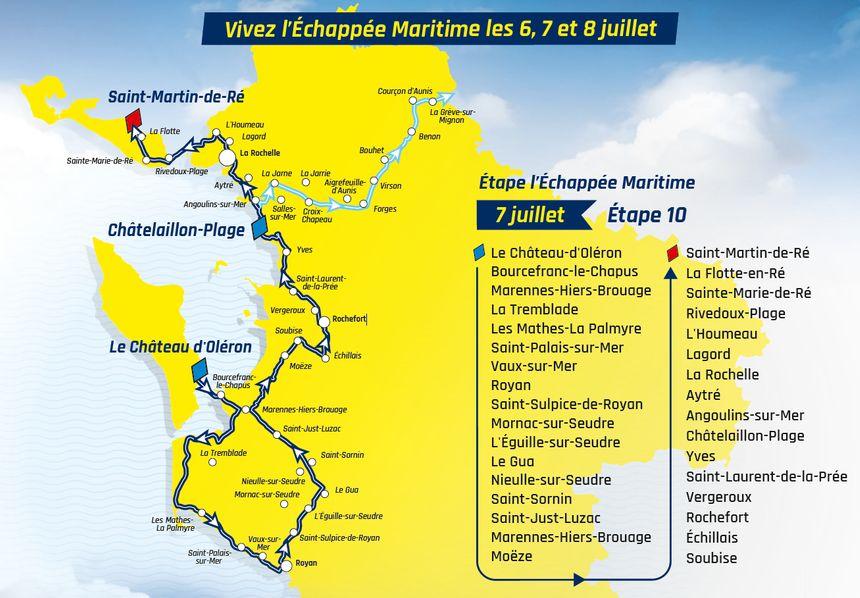 Tour De France 2020: Vivez l'échappée Maritime les 6, 7 et 8 Juillet